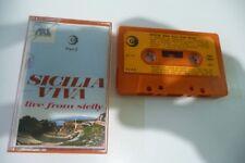 SICILIA VIVA PART. 2 NINO TURI e SARO K7 AUDIO TAPE CASSETTE. FOLK. ITALY.