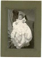 Antique Photo-Ft Collins Colorado-Baby-Long Gown-Lace-Bradley Photographer