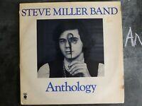 STEVE MILLER BAND ANTHOLOGY VINYL LP CAPITOL RECORDS ALBUM 1972 EST-SP 12 ROCK