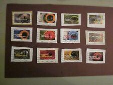 2015 france série complète de timbres issus du carnet les animaux nous regardent