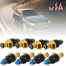 Set of 8 Fuel Injectors OEM0 280150943 For Ford F250 F350 93-03 5.0 5.8 4.6 5.4