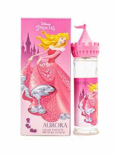 Disney Princess Aurora Castle Girls Perfume 3.4 oz / 100 ml EDT Eau de Toilette