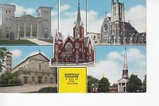 5 Views of the Churches in  Nashville TN Tenn