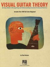 Visual Guitar Theory TAB Music Book Essential Fretboard Practices Easy Guide