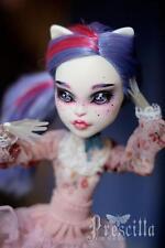 NUDE DOLL Monster High Catrine DeMew Body Spectra Vondergeist OOAK Repaint **