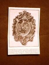 Bassorilievo argento Sacra Famiglia Dono per Jolanda di Savoia da Augusto Leguia