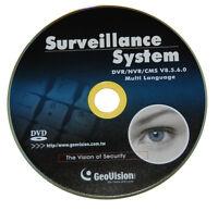 Genuine Geovision Multi-Language 32CH DVR /NVR Software V8.5.9.0 - FREE Shipping