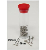 Koford Short Big Head Pro Body Pins for Slot Car Bodies