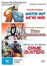 Crime Busters & Two Missionaries & Watch Out We're Mad DVD R4