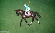 BREYER RACE HORSE CHRISTMAS ORNAMENT - ZENYATTA --- KENTUCKY DERBY NIB