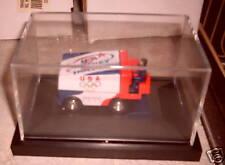 Zamboni Ice Hockey Plexiglass Display Case NEW Matchbox  Hot Wheels Car