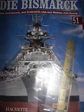 Bismarck/Ausgabe 51/Hachette/Die Geschichte und  Modell Bauen