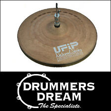 "Brand New UFIP Natural Series 14"" Regular Hi Hats BIG SAVING *2 YEAR WARRANTY!*"