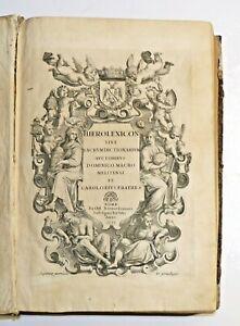 MAGRI - HIEROLEXICON - ROME, 1678