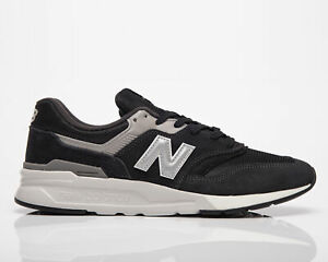 New Balance 997H Men's Black Silver Low Athletic Casual Lifestyle Sneakers Shoes