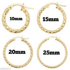 Beauty Yellow Gold Fine Earrings