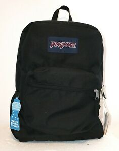 JANSPORT SUPERBREAK CROSS TOWN (BLACK) BACKPACK MSRP $40- BRAND NEW w/TAGS!!