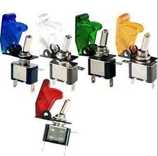 interruttore deviatore ON - OFF a levetta 12v illuminato a led varie colorazioni