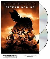New! Batman Begins Deluxe Edition Dvd - Christian Bale Christopher Nolan Holmes