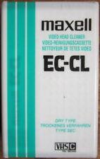 Ec-cl Maxell - Cassetta Pulisci Testine per Vhs-c