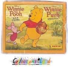 Stickers / Vignettes Panini ~ Winnie L'Ourson  ~ Lot De 25 Pochettes