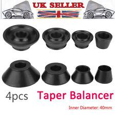 4Pcs 4Sizes 40mm Car Wheel Balancer Standard Taper Cone Kit Set Shaft Accuturn