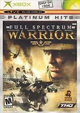 X-Box Game: Full Spectrum Warrior [Platinum Hits] Lot X10-61