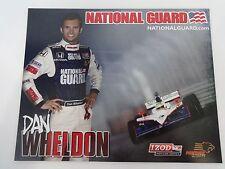 Dan Wheldon National Guard Indianapolis 500 Hero Card IndyCar Panther Racing