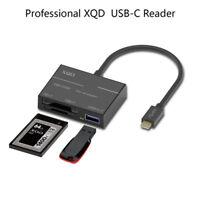 Type-C  XQD Card Reader USB 3.0 Adapter USB-C For Sony G Series Lexar XQD