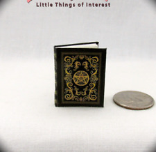 BEAUCHAMP GRIMOIRE SPELL BOOK Miniature Dollhouse 1:12 Scale Witches East End