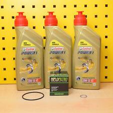 Yamaha XV 535 / XVS 650 Öl Ölfilter Dichtungen Castrol Power 1 20w50 3BR 2YL S