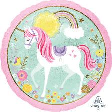 Magical Unicorn Holographic Foil Balloon Unicorn Party Decorations