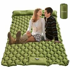 New listing Sleeping Pad for Camping ,Camping Air Mattress with Pillow for 2
