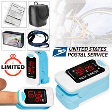 Finger Tip Pulse Oximeter Blood Oxygen Monitor Spo2 Sensor O2 Patient Monitor