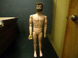"Vintage 1964 G.I. Joe Fuzzy Beard Scar Face Hasbro 12"" Action Figure"