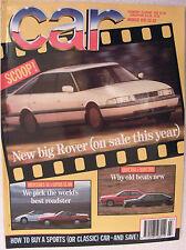 Car Magazine March 1991