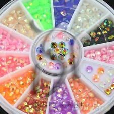 Diamant Facettenschliff Strasssteine im Rondell, 12 Farben, 3mm groß