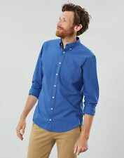 Joules Mens The Laundered Oxford Classic Fit Long Sleeve Shirt - DARK BLUE