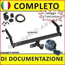 Gancio di traino fisso DACIA Duster 2010- + kit elettrico 7-poli Rimorchio