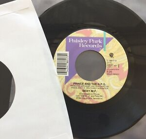 PRINCE AND THE N.P.G. Sexy M F (USA 1992) Paisley Park 7-18817  Brand New