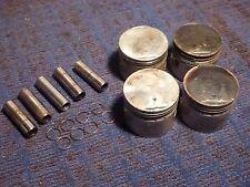 Honda CB750 A K F SOHC DOHC piston pistons wrist pin pins clips