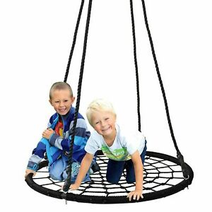 Heavy Duty Kids Nest Tree Swing Seat Set Large Strong Swing Chair Indoor Outdoor