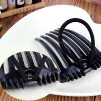 Inserts Clip Volume 2PCS Fashion Bouffant Hair Clip Hair Comb Ponytail