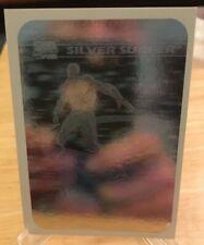 Silver Surfer MH3 1990 Impel Hologram Marvel Universe 1 Trading Card Insert NM/M