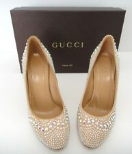 GUCCI Shoes in Size 37/7 endless Swarovski crystals Made in Italy 1450$ retail
