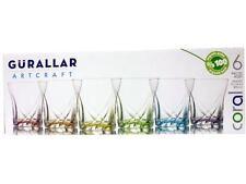 Verres de cuisine colorés en verre