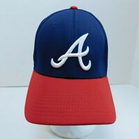 Atlanta Braves  Sports Team MLB Youth Hat One Size Navy Blue Red Baseball ECO3