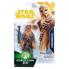"STAR WARS FORCE LINK 2 - Chewbacca 3.75"" Figure [SOLO][E1185]"