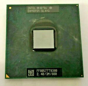 INTEL Core 2 Duo T8300  SLAYQ/SLAPA MOBILE - 2,40GHz/3M/800 - Sockel P #750