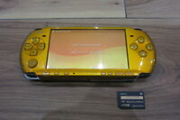 Sony PSP 3000 Console Bright Yellow w/1GB Memory Stick Japan x398
